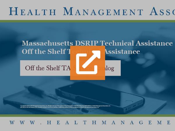 Health Management Associates Off the Shelf Offerings