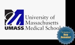 UMass Medical School - TA Vendor in New Domains!