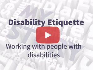 Disability Etiquette Title Frame
