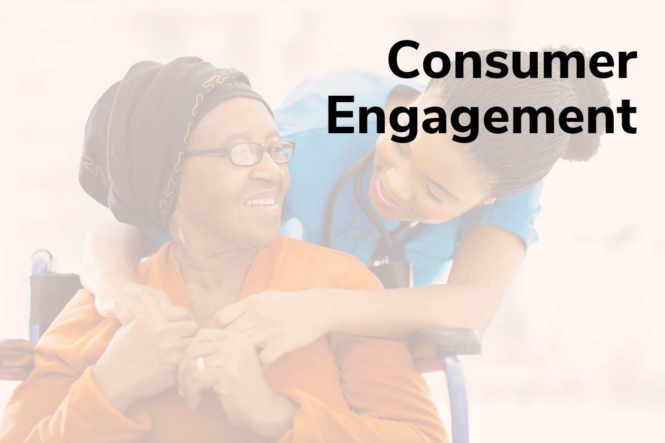 Consumer Engagement Title Frame