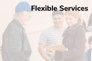 Flexible Services Title Frame