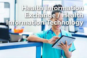 Health Information Exchange/Health Information Technology Title Frame