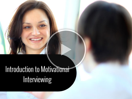 Introduction to Motivational Interviewing Title Frame