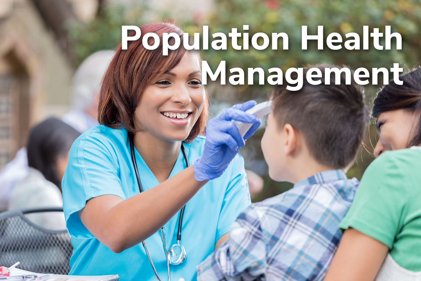 Population Health Management Title Frame