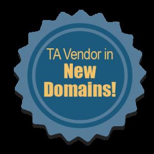 TA Vendor in New Domains!