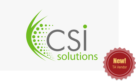 CSI Solutions - New! TA Vendor