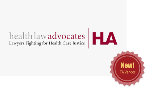 Health Law Advocates - New! TA Vendor